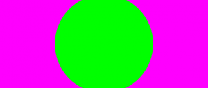 phenomenon called simultaneous contrast with magenta and green
